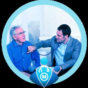 خدمة الكشف الطبي المنزلي - ميديكال كير للرعاية الصحية المنزلية