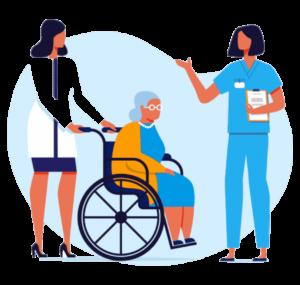 تعريف التمريض المنزلي - ميديكال كير للتمريض المنزلي